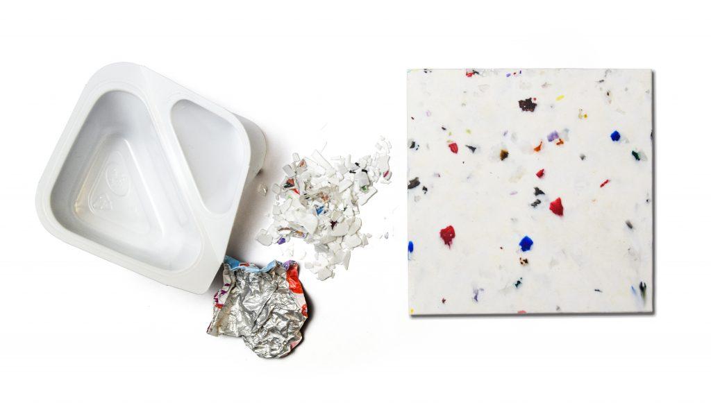 Bespoke-design recycling & reuse infrastructure. Creating custom materials