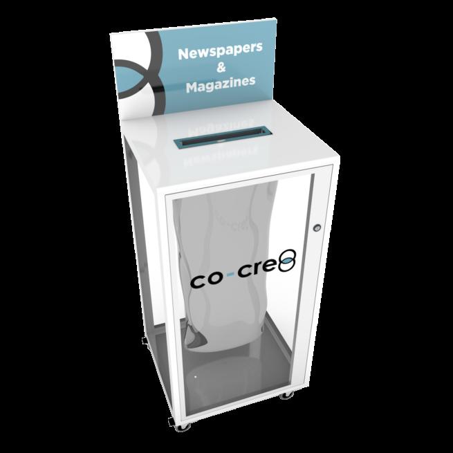 1-Stream Recycling Station - Transparent