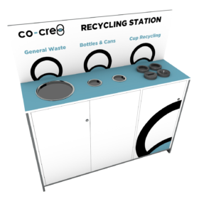 3-Stream Recycling Station